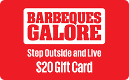 Barbeques Galore Gift Card - $20