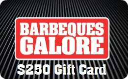 Barbeques Galore Gift Card - $250