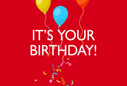 e-Gift Card – Birthday Theme