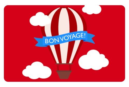 e-Gift Card – Bon Voyage