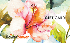 Flower Power Gift Card sent via Post in 7–15 days