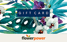 Flower Power eGift Card – Design 2