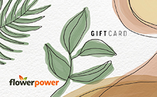 Flower Power eGift Card – Design 1