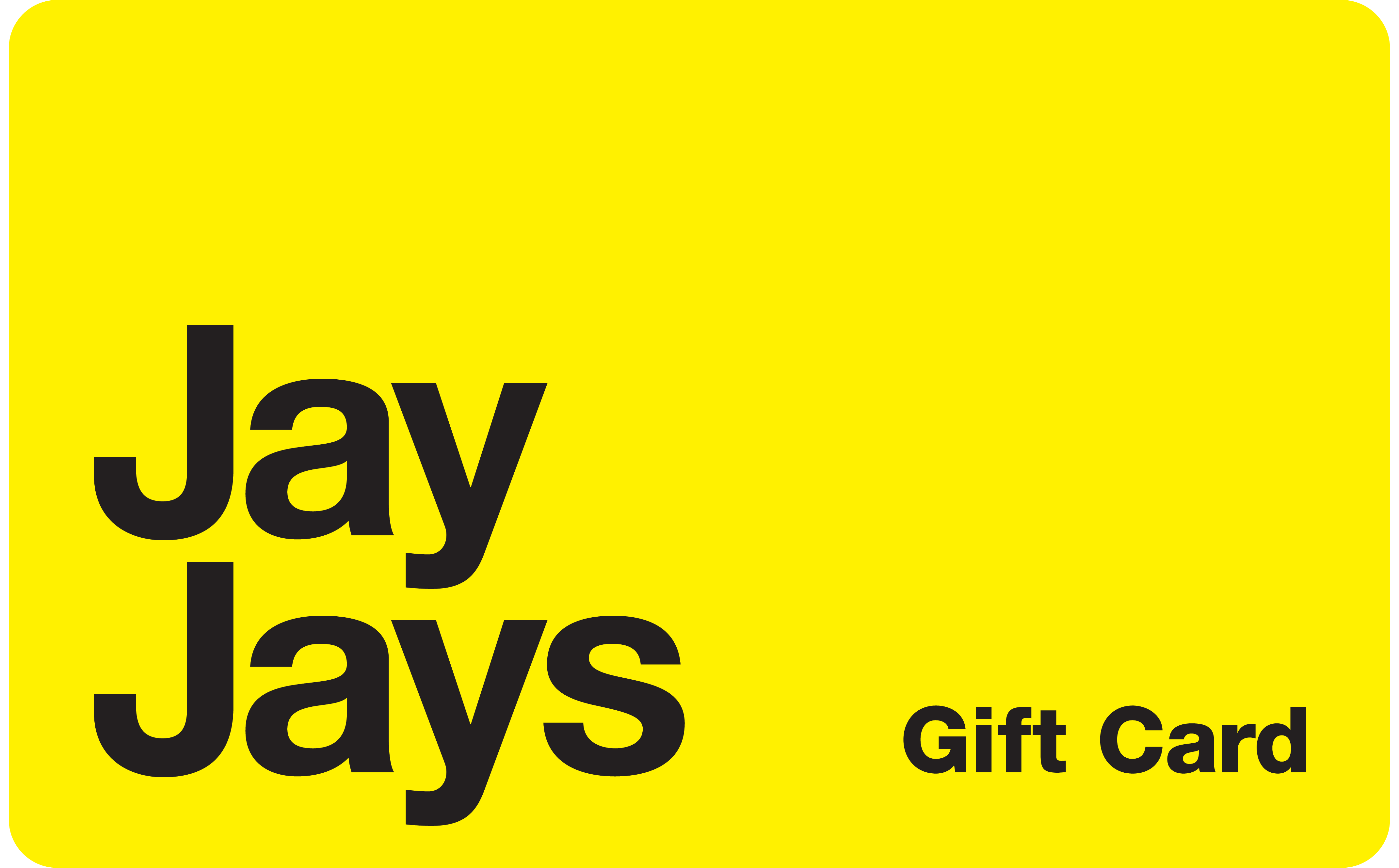 Gift Card Yellow