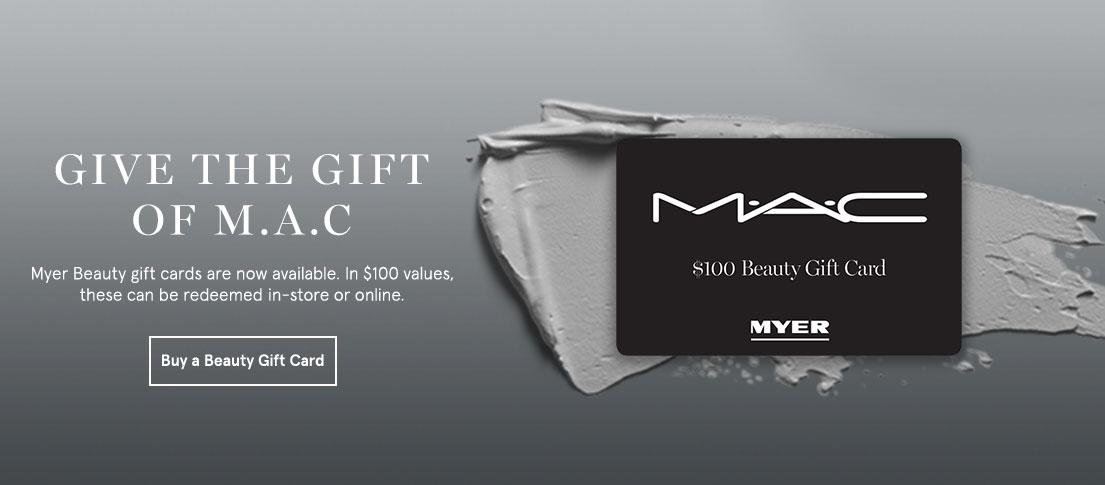 MAC Gift Card