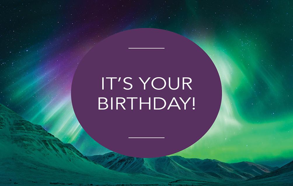 e-Gift Card – Birthday Theme