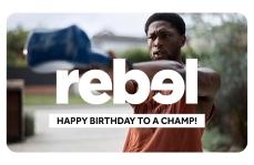 Happy Birthday to a Champ